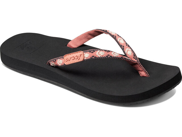 Reef Ginger Claquettes Femme, black/blush